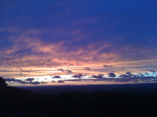 sunset boalsburgpa cloudsstormssunsetssunrises boalsburgyachtclub