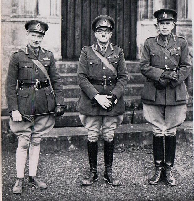 Monty With Generals AlanBrooke ...&.Unknown General