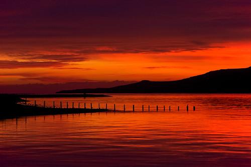 sky reflection clouds sunrise iceland ísland ský himinn speglun sólarupprás fáskrúðsfjörður faskrudsfjordur jónínaguðrúnóskarsdóttir