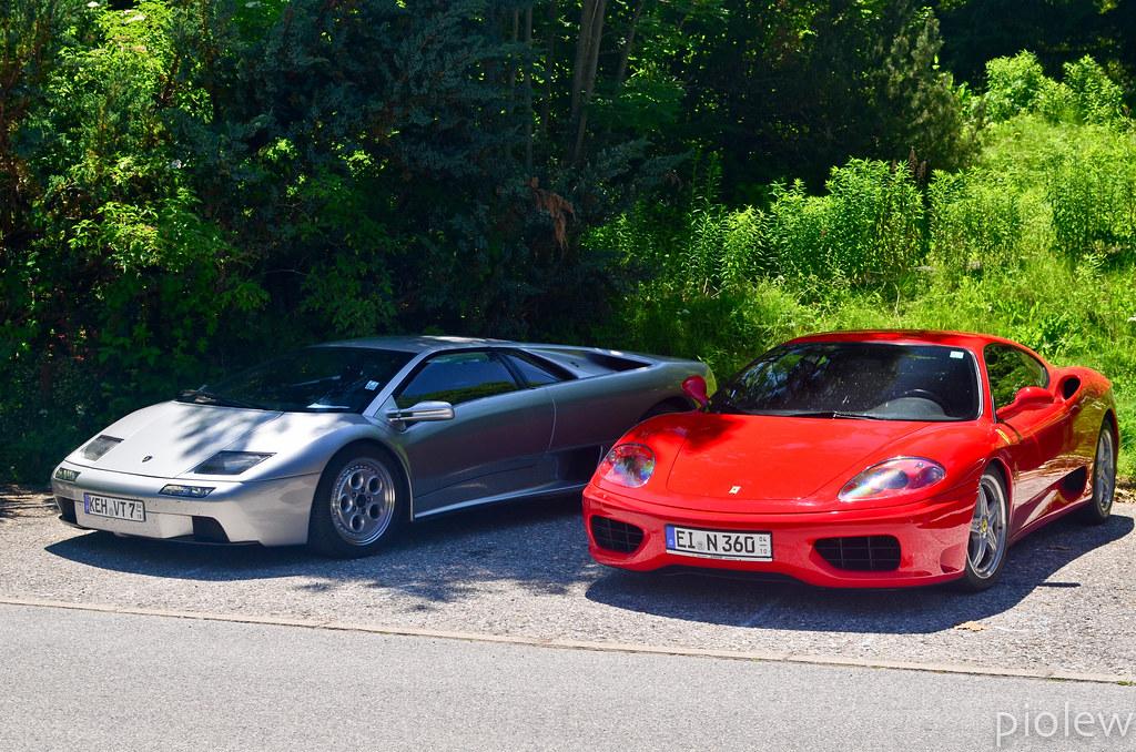 Lamborghini Diablo Vt 6 0 Ferrari 360 Modena More Pictur Flickr