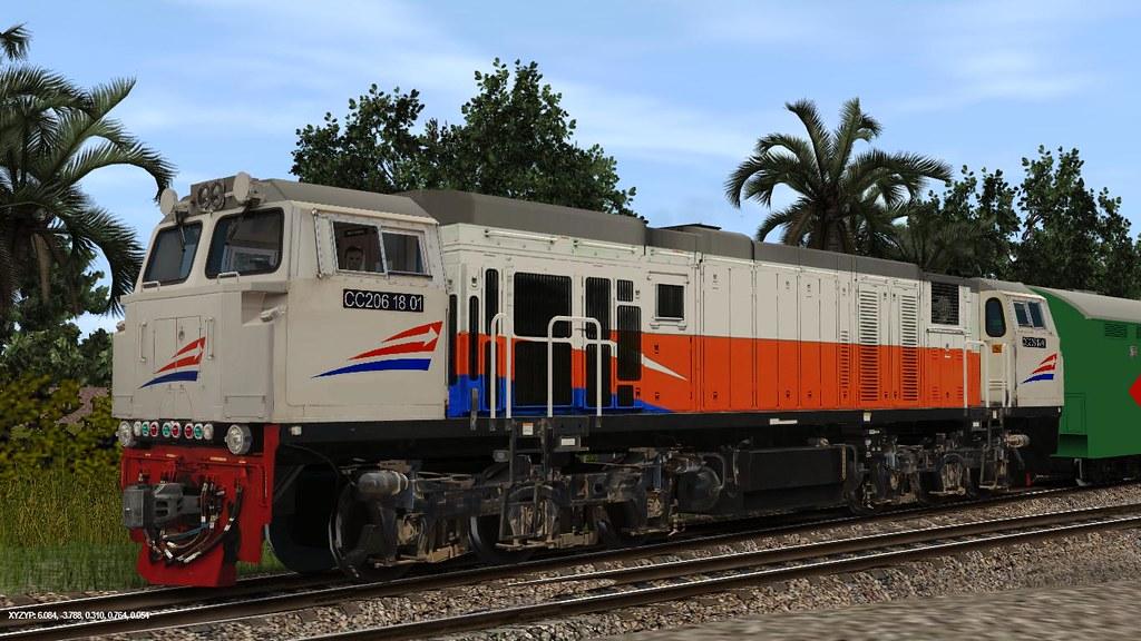 Trainz12 Indonesia - CC 206 18 01 | Trainz Simulator Indonesia | Flickr