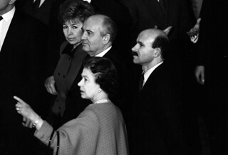 Visit of Mikhail Gorbachev | by The British Monarchy