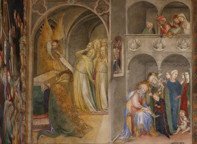 fratelli Salimbeni - Lorenzo (1374 - prima del 1420) e Jacopo (1347 - dopo 1427) - Storia di San Giovanni Battista (1416) - Oratorio di San Giovanni Battista - Urbino