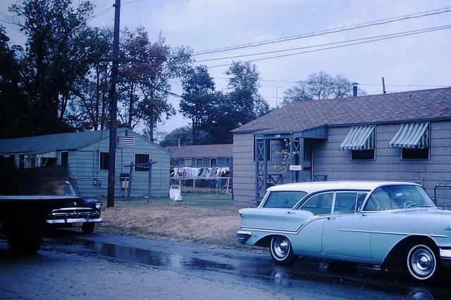Found Photo - Station Wagon, 1959