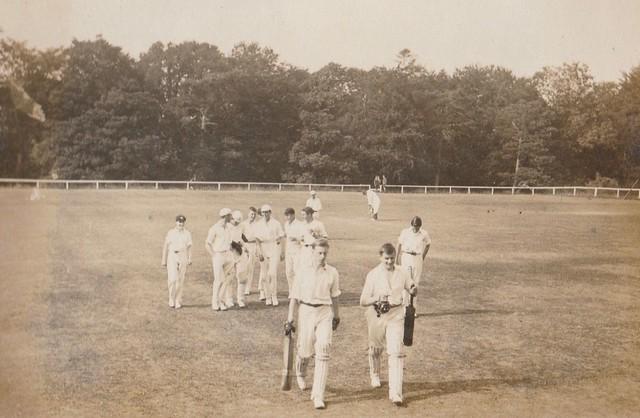 Cricket Pitch, 1920s