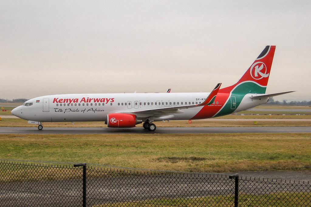 5Y-KYF | Boeing 737-86N(WL) | Kenya Airways
