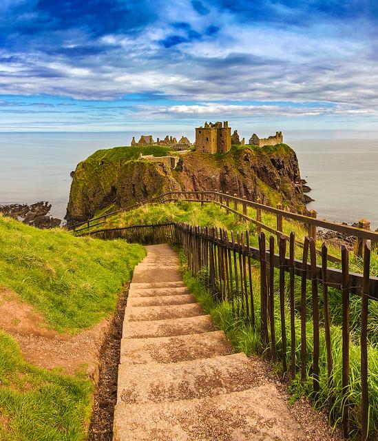 Dunnottar Castle.Aberdeenshire.Scotland.