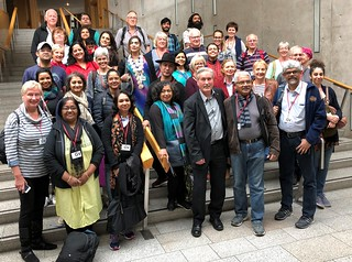 Showing Indian and Haddington choirs around Holyrood | by Iain Gray MSP