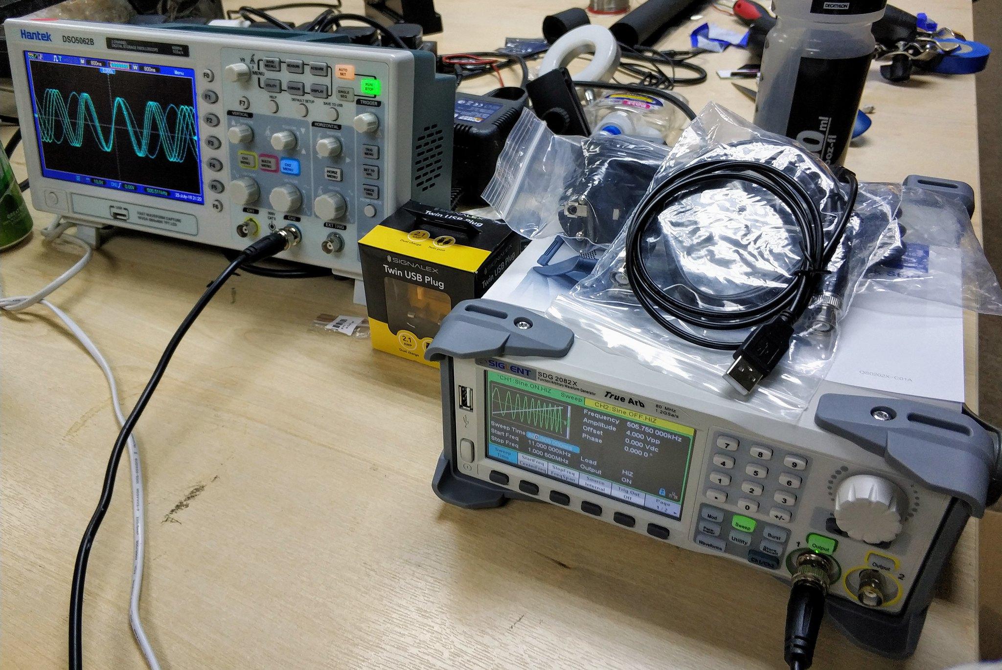 New signal generator.
