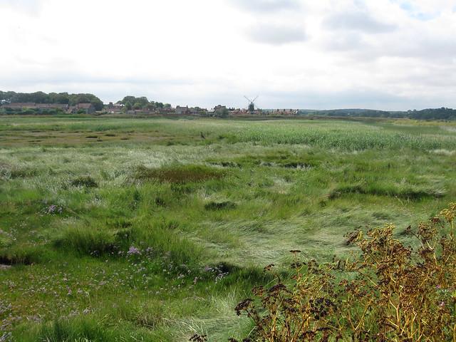 The Norfolk Coast Path near Blakeney