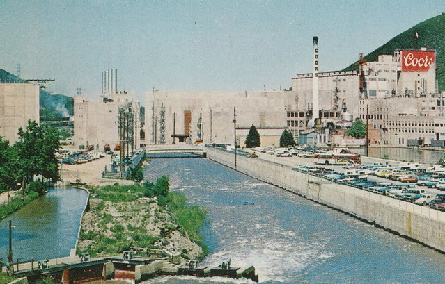 US CO Golden Breweriana 1970s MODERN BREWERY and TASTING ROOM Adolph COORS Brewery Golden Colorado THE HOSPITALITY ROOM was lots of FUN4