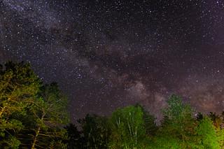 Leonard Harrison State Park - Milky Way
