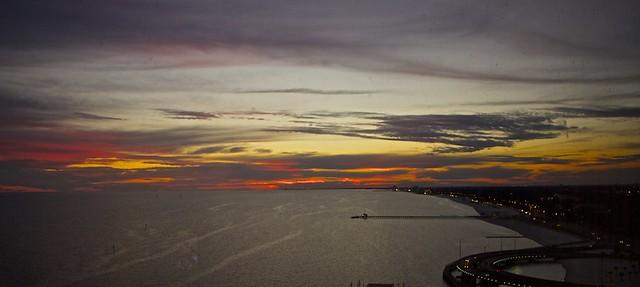 Sunset At Biloxi, MS