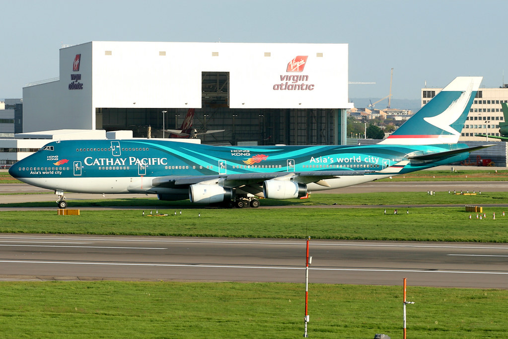 Cathay Pacific | Boeing 747-400 | B-HOY | Asia's World Cit