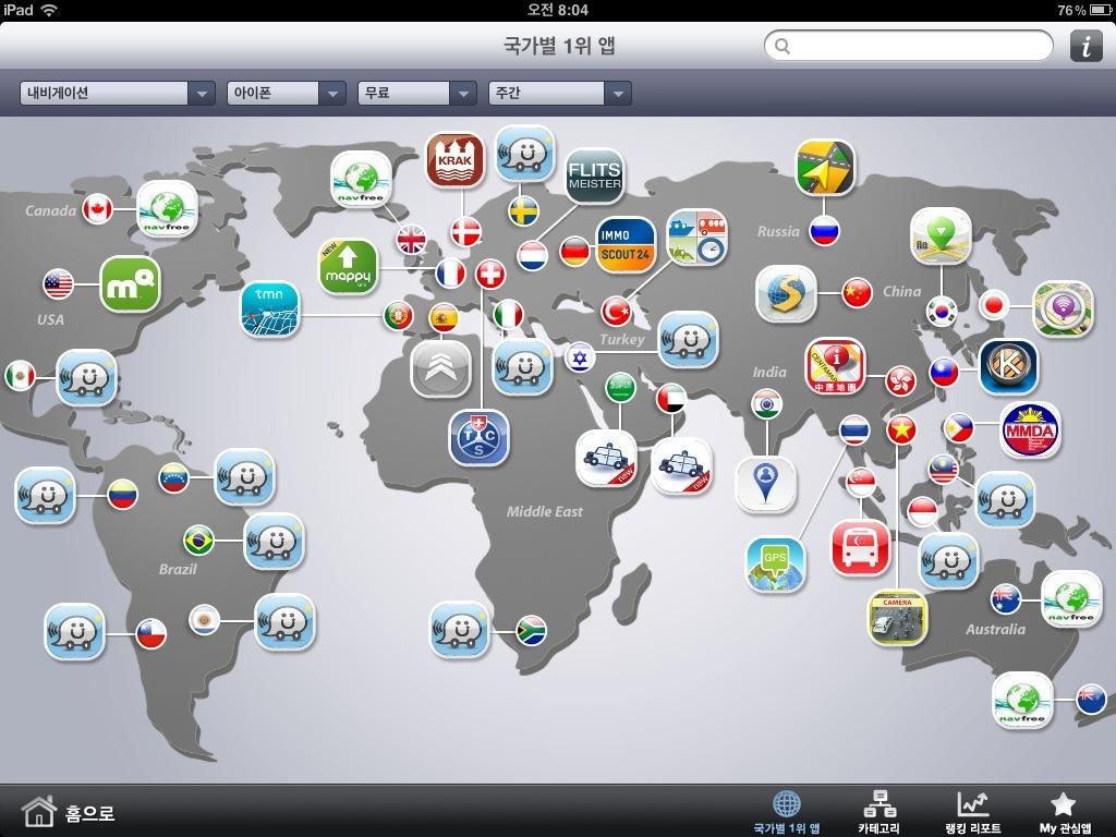 Global App no.1: Navigation App, 2012-08-20