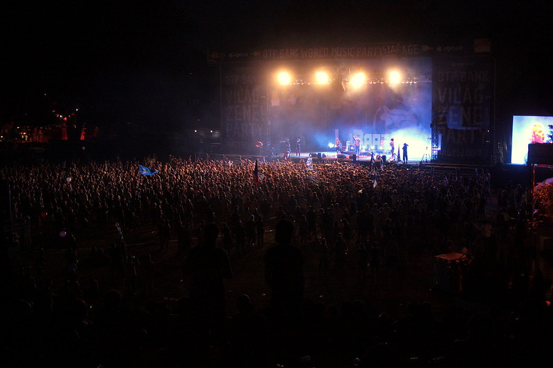 OTP Bank World Music Party Main Stage1