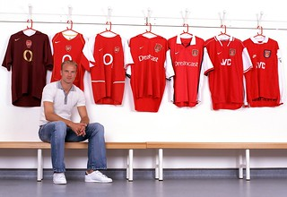 Arsenal legend Dennis Bergkamp
