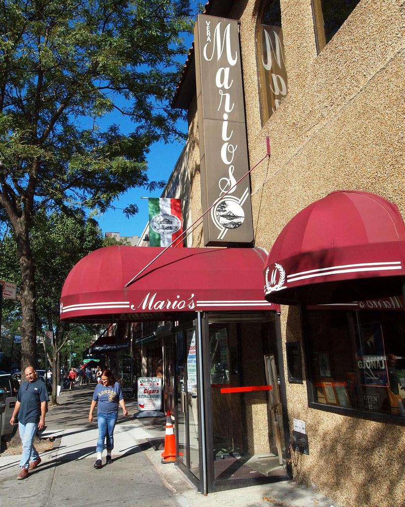 Vera Mario S Italian Restaurant Little Italy Bronx New