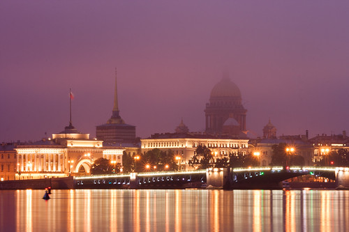 fog sunrise canon river dawn cathedral russia saintpetersburg neva stisaacs 400d dvortsovyybridge canonefs55250mmf456is