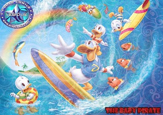 anime_baby_Donald_Duck_Surfing_Wallpaper_2560x1920_www ...