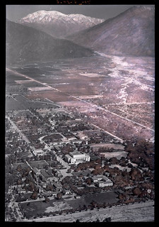 Aerial view of the 1938 flood