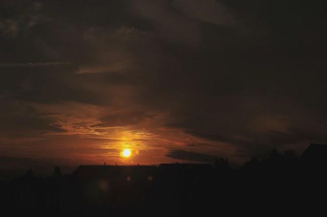 Sonnenuntergang 22.09.2012