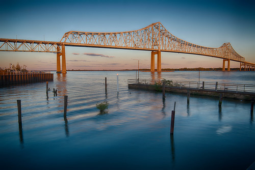 Commodore Barry Bridge, Chester, PA | by Garen M.