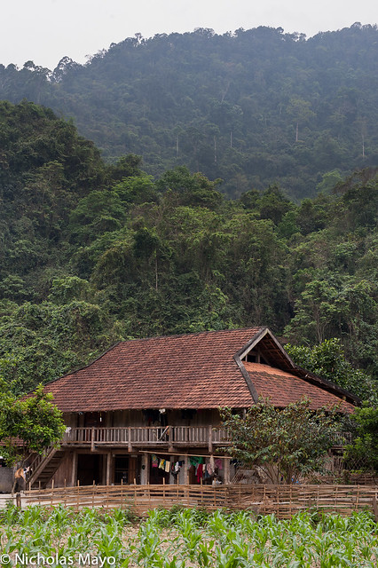 Red Tiled Thai House