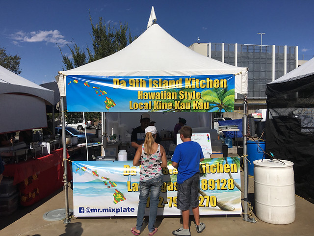 Da 9th Island Kitchen, Ho'olaule'a Festival​