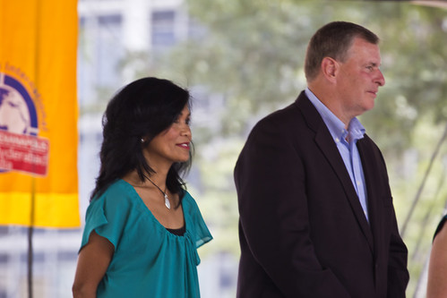 India Day  Indianapolis Mayor Greg Ballard& wife Winnie