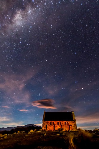 Lake Tekapo Church Stars-5 | by Quick Shot Photos
