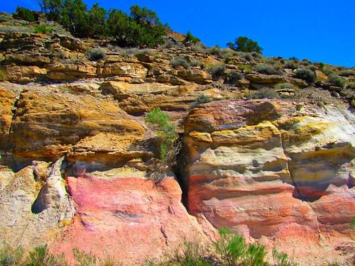 rock rural colorado geology montrosecolorado shavanovalley springcreekmesa