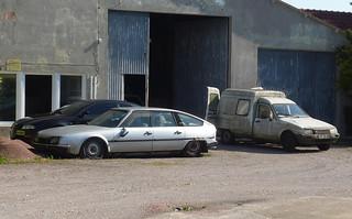 Citroen CX (GTi?) + C15 van | by Spottedlaurel