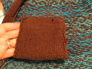 Pocket from inside | by knit1purl2mommy