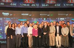 EMBA Students Visit NASDAQ