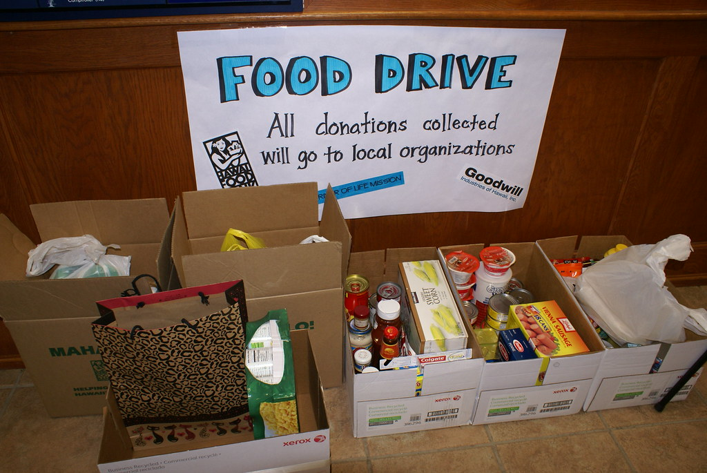 Food Drive | NAVFAC Pacific has joined forces with our feder… | Flickr
