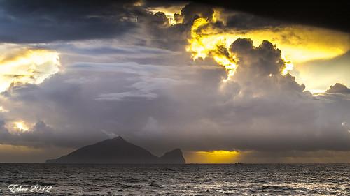 sky cloud sun olympus 宜蘭 ether 龜山島 em5 龜山朝日 etherhuang 黃建隆