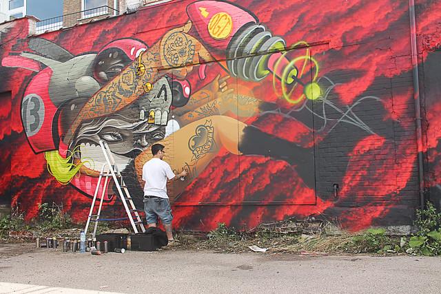 Danjer Molar @ Street Art Festival Hasselt