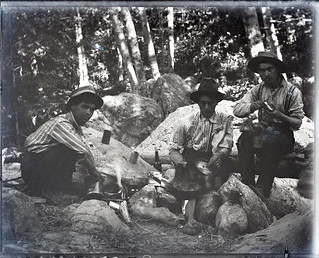 Student camping trip at Mt. Baldy (1903)