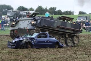 Tank vs Car Demonstration