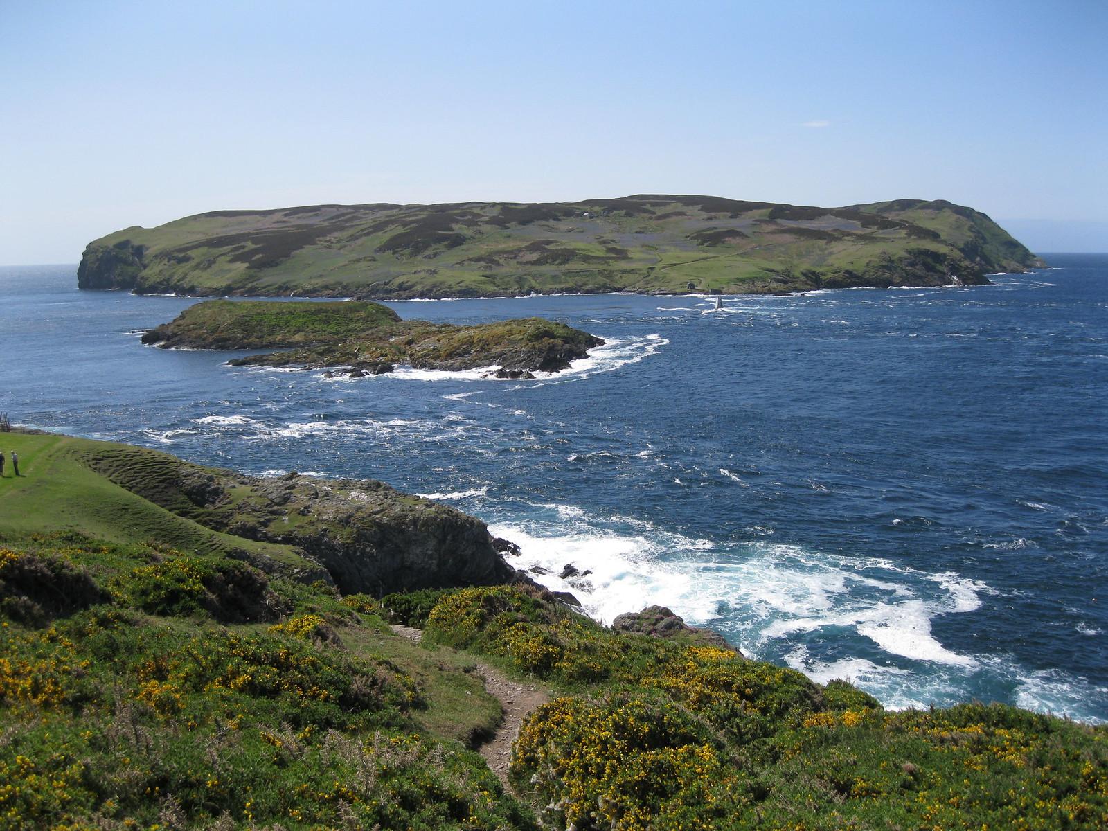 Isle of Man Calf Sound and Calf of Man