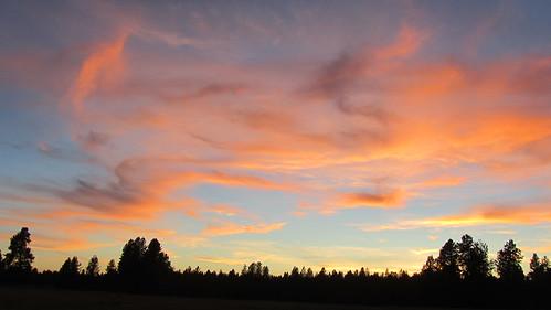pink blue sunset summer clouds washington september pines canonpowershot spokanecounty inlandnorthwest marilynhassler omadarlingphotography