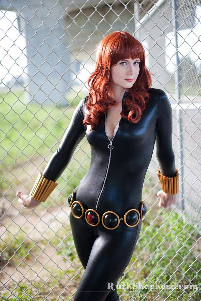 Black Widow shoot | My friend Amanda Kinney rocks some Black
