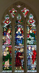 east window by Margaret Agnes Rope, 1912