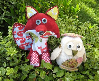 Mr Fox and Owl