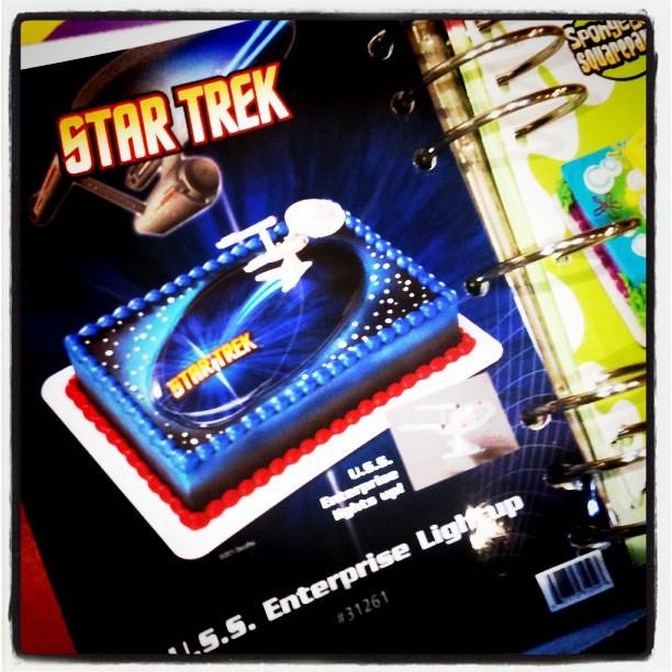 Incredible Star Trek Custom Birthday Cakes With Light Up Musical E Flickr Funny Birthday Cards Online Bapapcheapnameinfo