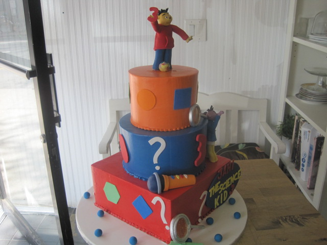 Astonishing Sid The Science Kid Cake Heavenly Crumbs Flickr Funny Birthday Cards Online Inifofree Goldxyz