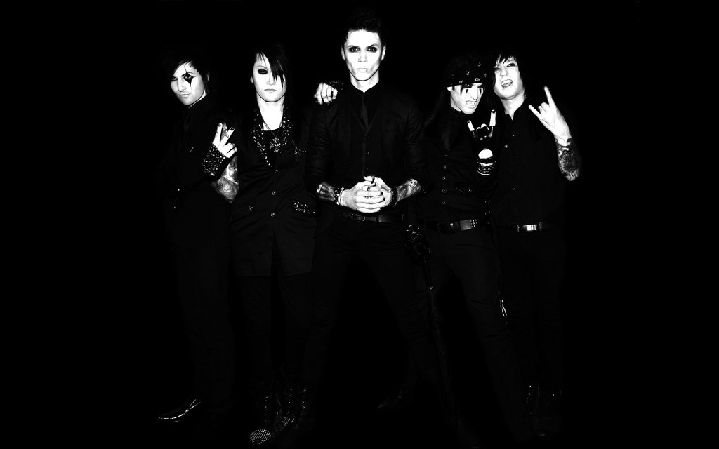 Black Veil Brides Wallpaper 1280x800px Wallpaper De La Ban