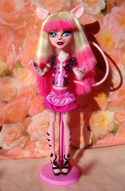 Monster High Create a Monster pink kitty #1
