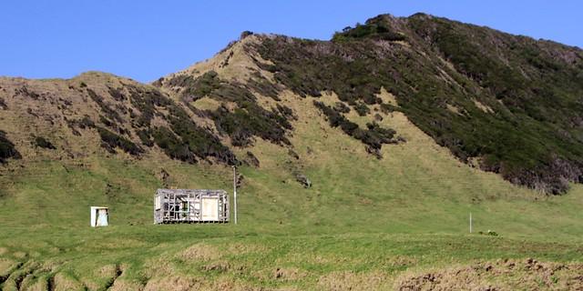 Old house, Horoera, East Cape, Gisborne, New Zealand